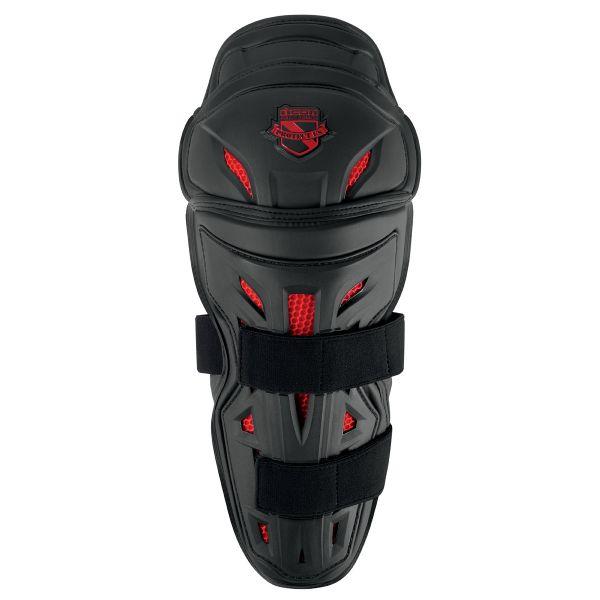 Genouilleres Moto ICON Stryker Knee Armor Black