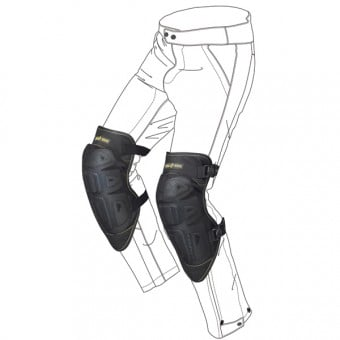 genouilleres moto spidi k net noir en stock. Black Bedroom Furniture Sets. Home Design Ideas