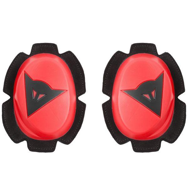 Sliders Moto Dainese Pista Knee Slider Fluo Red Black
