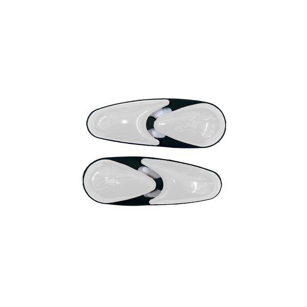 Sliders Moto Alpinestars SMX - Supertech - GP Tech R Toe Slider Boots White
