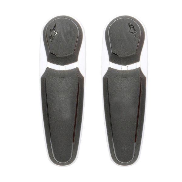 Sliders Moto Alpinestars Sliders SMX Plus Toe Noir Blanc