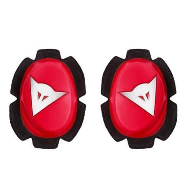 Sliders Moto Dainese Pista Knee Slider Red White