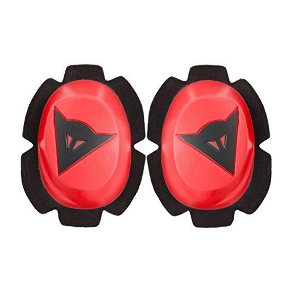 Sliders Moto Dainese Pista Rain Knee Slider Fluo Red Black