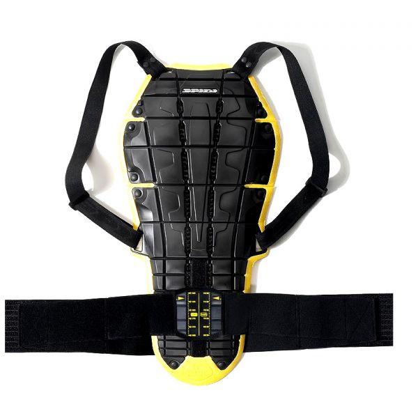 dorsale moto spidi back warrior evo noir jaune au meilleur prix. Black Bedroom Furniture Sets. Home Design Ideas