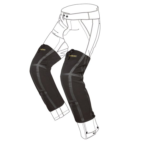 Genouilleres Moto Spidi Snug Knee Noir