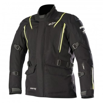 Veste Moto Alpinestars Big Sur Gore-Tex Pro Black Yellow Fluo