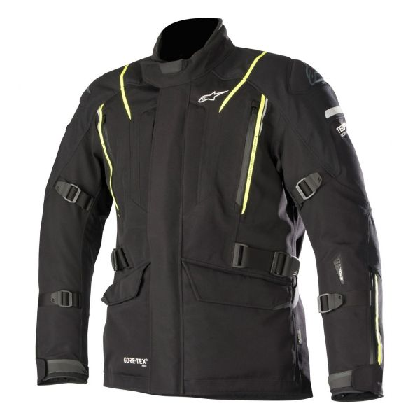 Veste Moto Alpinestars Big Sur Gore-Tex Pro Black Yellow Fluo