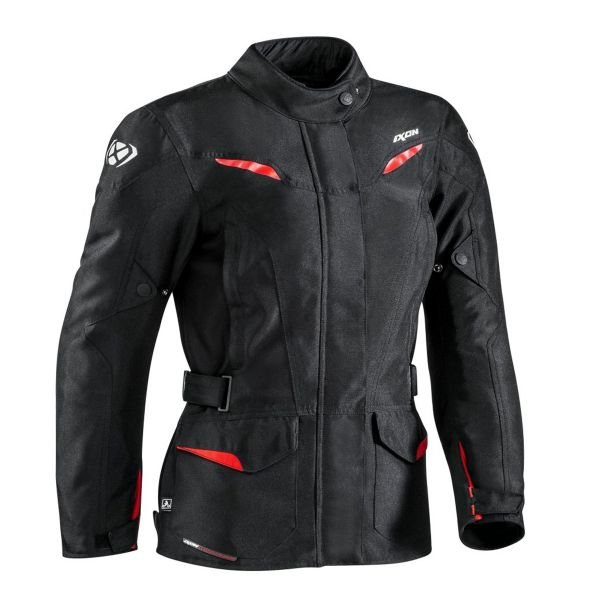 Veste Moto Ixon Summit 2 Lady Black Red