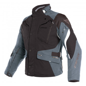 Veste Moto Dainese Dolomiti Gore-Tex Black Ebony Light Grey