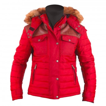 Veste Moto Helstons Stuff Lady Red