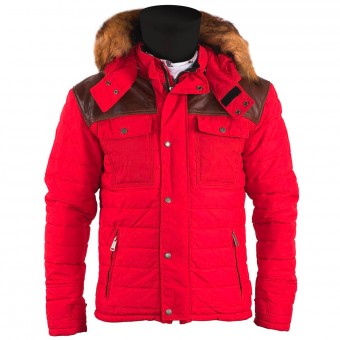 Veste Moto Helstons Stuff Red