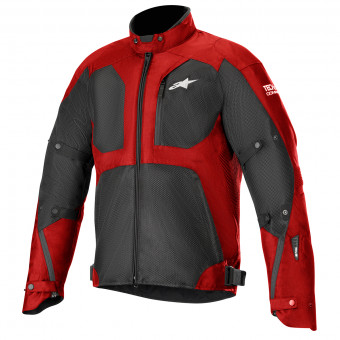 Veste Moto Alpinestars Tailwind Air Waterproof Tech-Air Compatible Red Black