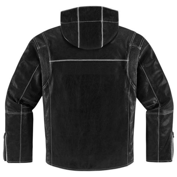 blouson moto icon 1000 hood black cherche propri taire. Black Bedroom Furniture Sets. Home Design Ideas