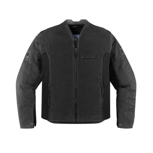 Blouson Moto ICON 1000 Oildale Black
