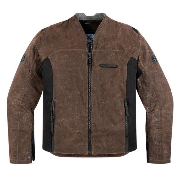 Blouson Moto ICON 1000 Oildale Brown