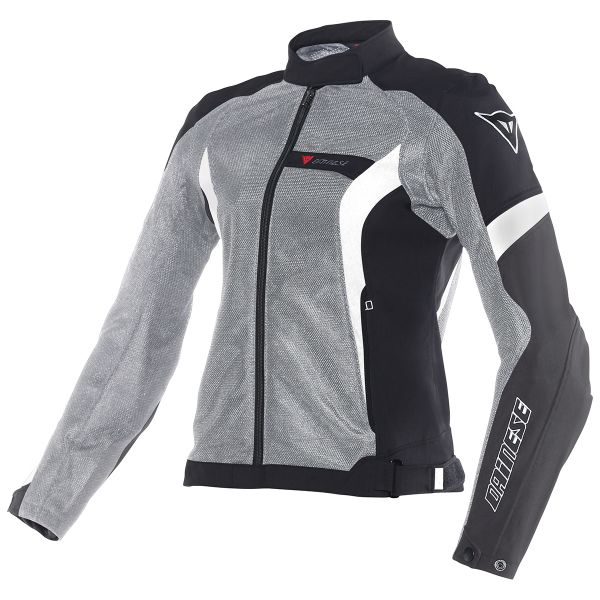 Blouson Moto Dainese Air-Crono Lady Anthracite Black White