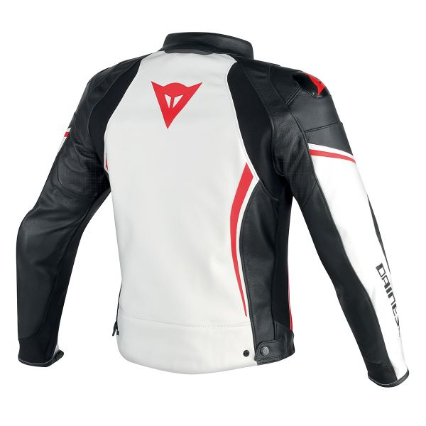Dainese Assen Perforated White Black Red