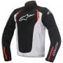 Blouson Moto Alpinestars Ast Air Black White Red