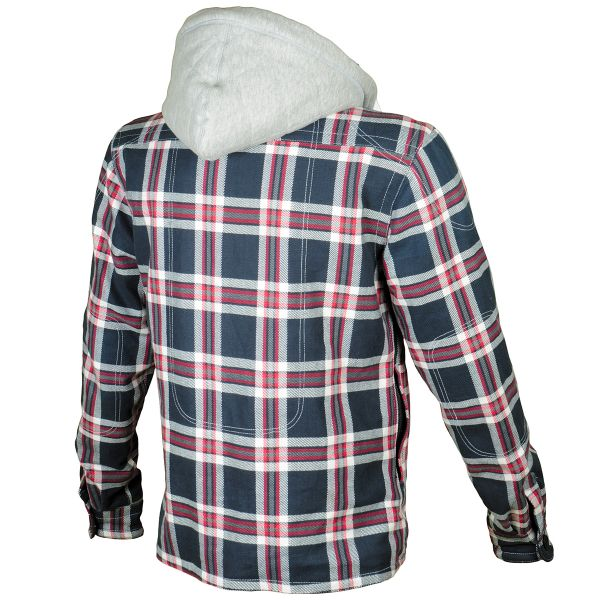 Booster Hoodie Kevlar Hunt Blue Grey Red