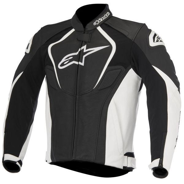 Blouson Moto Alpinestars Jaws Black White