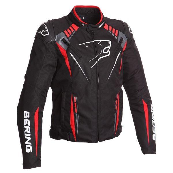 Blouson Moto Bering Primo-R Black Red