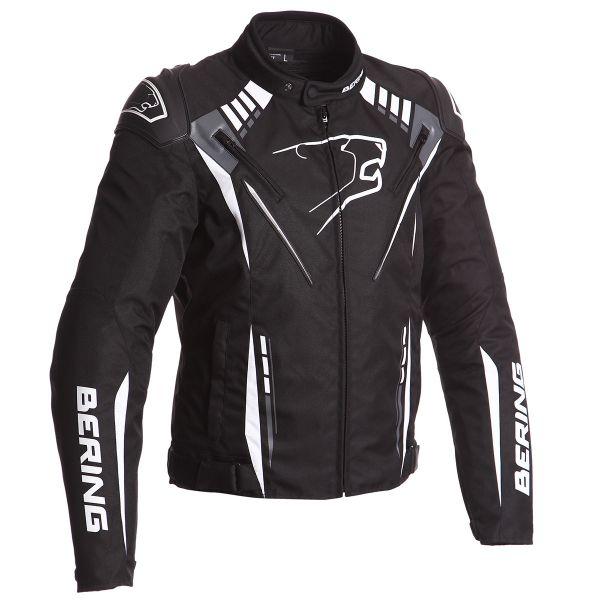 Blouson Moto Bering Primo-R Black White