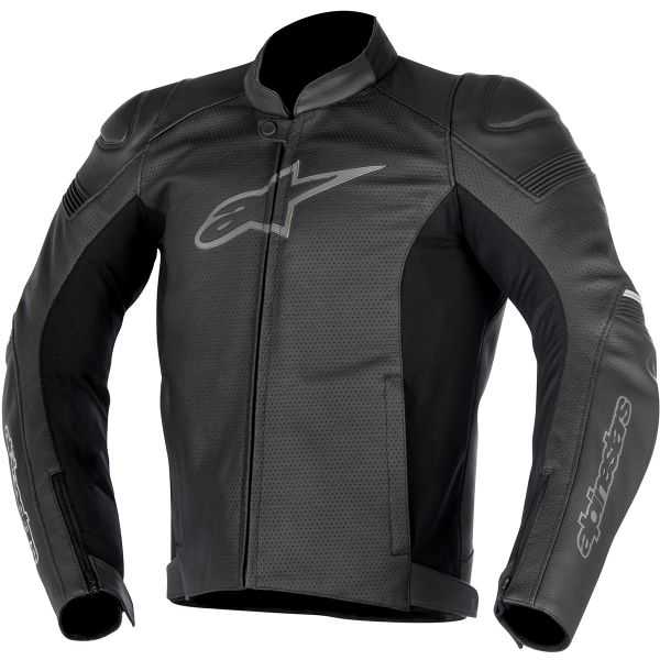 blouson moto alpinestars sp 1 leather airflow black en stock. Black Bedroom Furniture Sets. Home Design Ideas