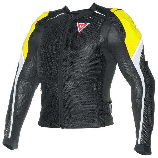 Blouson Moto Dainese Sport Guard Black Yellow Fluo