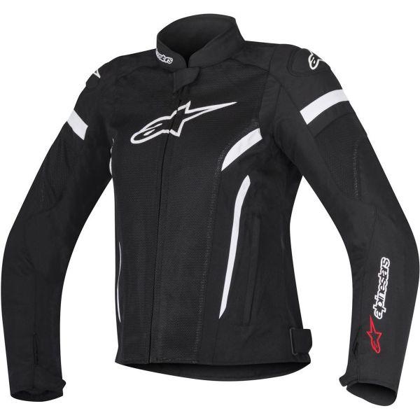 Blouson Moto Alpinestars Stella T-GP Plus R V2 Air Black White