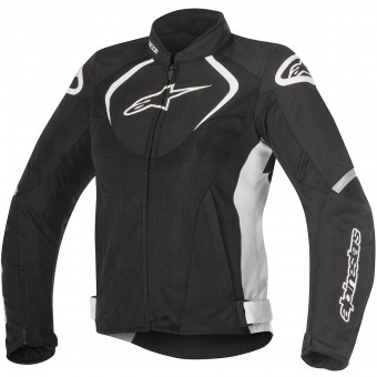 Blouson Moto Alpinestars Stella T-Jaws V2 Air Black White