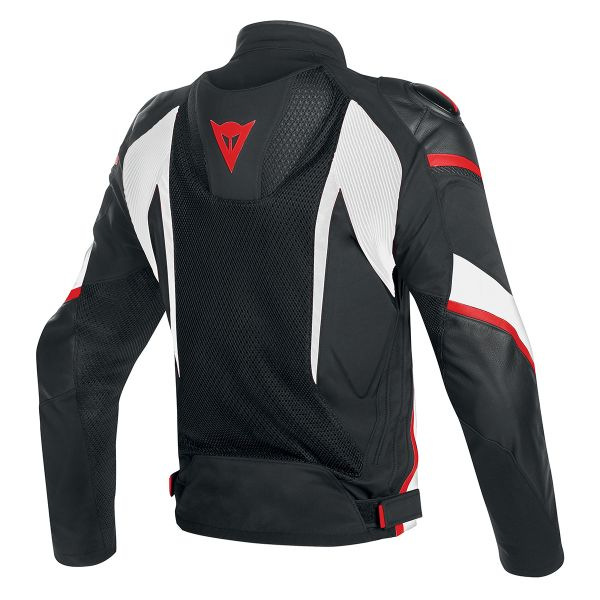 Dainese Super Rider Perf Black White Red Fluo