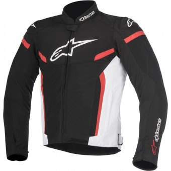 Blouson Moto Alpinestars T-GP Plus R V2 Air Black White Red