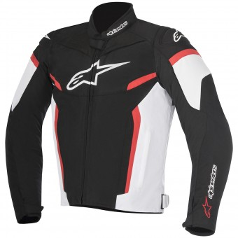 Blouson Moto Alpinestars T-GP Plus R V2 Black White Red