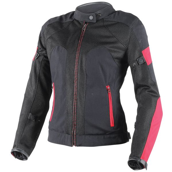 Blouson Moto Dainese Air-Frame Lady Black Grey Fuschia