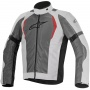 Blouson Moto Alpinestars Amok Air Drystar Light Gray Dark Gray