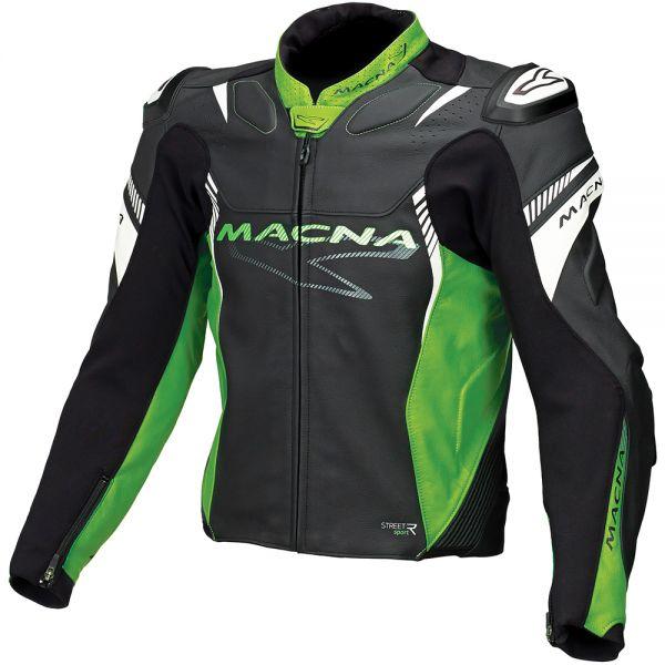 Blouson Moto Macna Blast Green