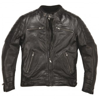 Blouson Moto Helstons Cruiser Leather Rag Black