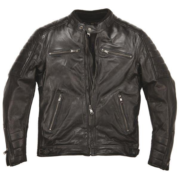 Blouson Moto Helstons Cruiser Leather Rag Black
