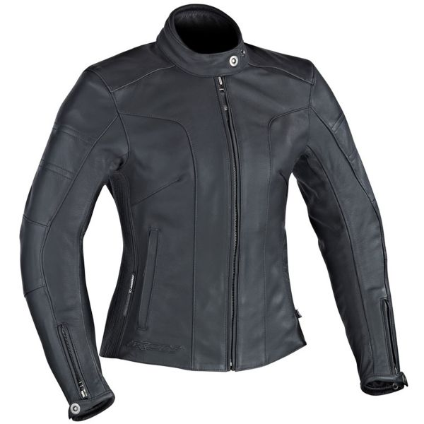Blouson Moto Ixon Crystal Slick Black
