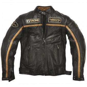 Blouson Moto Helstons Daytona Leather Rag Black