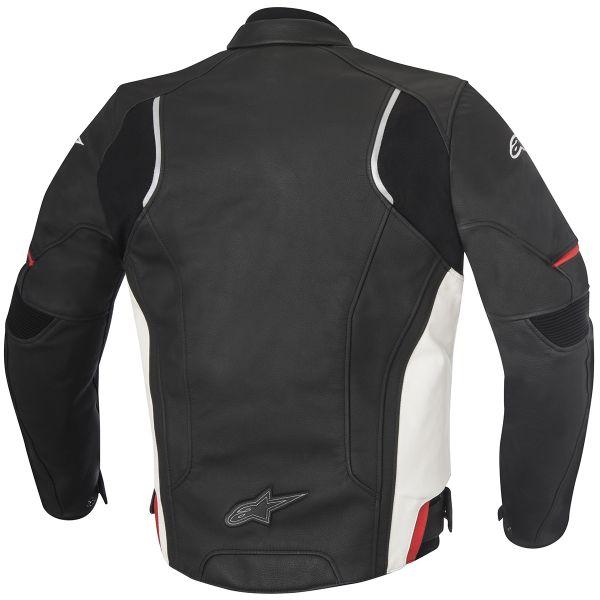 Alpinestars Devon Leather Black White