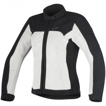 Blouson Moto Alpinestars Eloise Black Light Gray