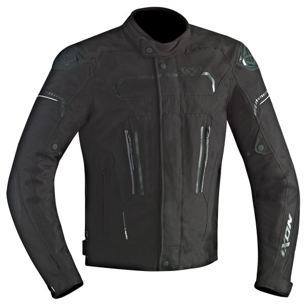 blouson moto ixon exhale hp black en stock. Black Bedroom Furniture Sets. Home Design Ideas