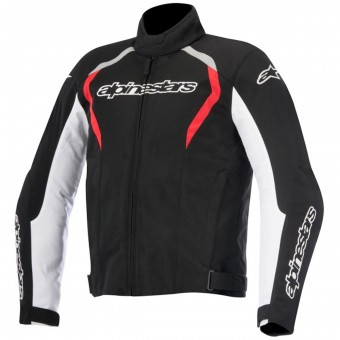 Blouson Moto Alpinestars Fastback WP Black White Red