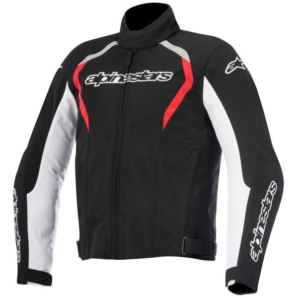 Blouson Moto Alpinestars Fastback WP Black White Red