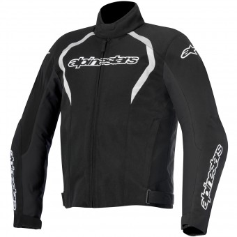 Blouson Moto Alpinestars Fastback WP Black White