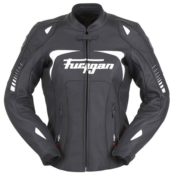 Blouson Moto Furygan Ginger Black White