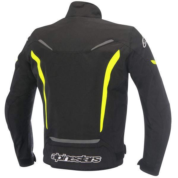 Alpinestars GP PRO Leather Black White Yellow Fluo