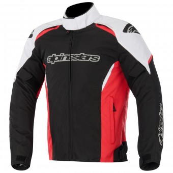 Blouson Moto Alpinestars Gunner Waterproof Black White Red