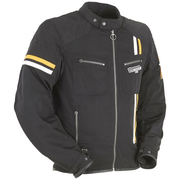 Blouson Moto Furygan Hero Evo Black White